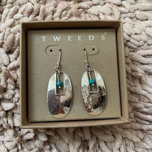 Tweeds Sterling Silver Earrings